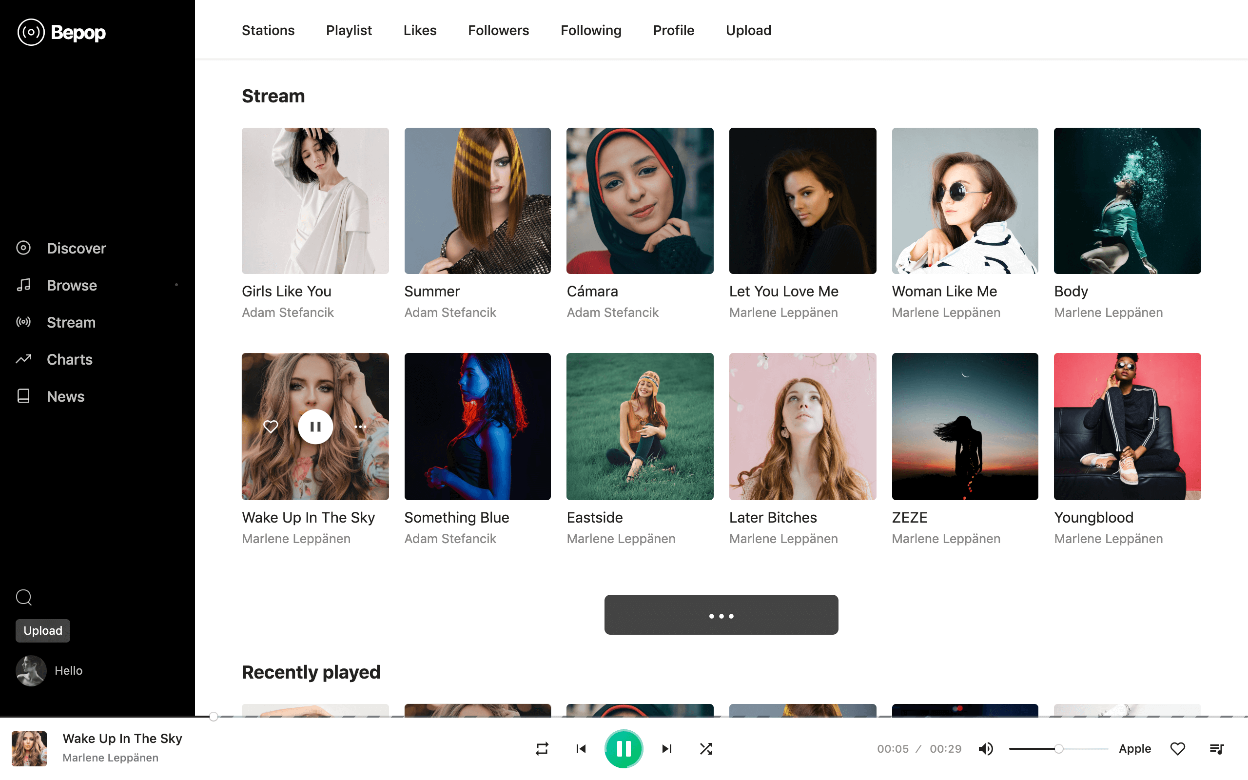 Bepop - Non-stop Music WordPress Theme - 2